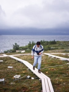 Carlos Ballaré in Abisko (July 1997).
